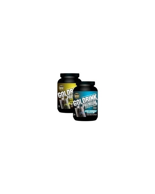 Pack 3 Goldrink Premium Goldnutrition 750gr