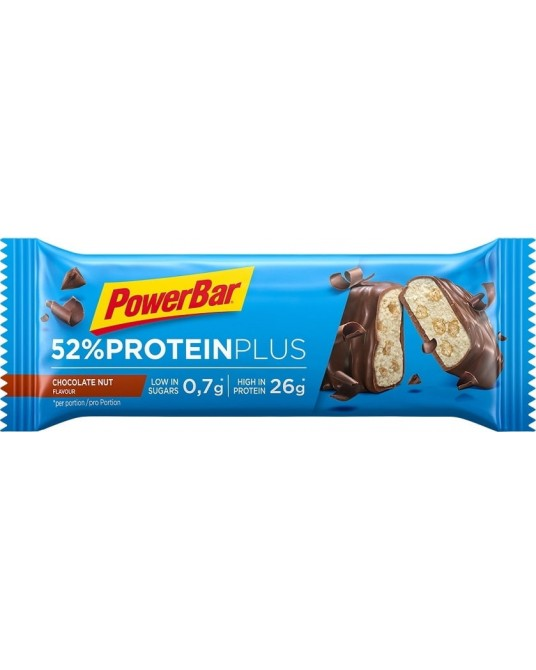 Powerbar 52% Protein Plus Bar 20 x 50g