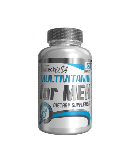 Biotech Multivitamin for Men 60 cápsulas