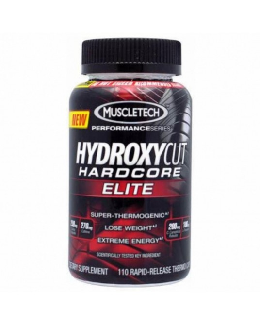 Hydroxycut Hardcore Elite Performance Series 110 caps