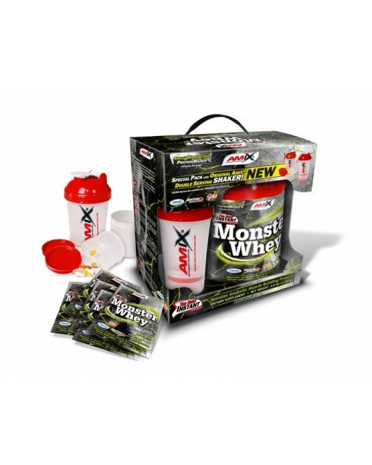 Amix Anabolic Monster Whey Protein 2kg + 200gr ( 6 x 33gr )