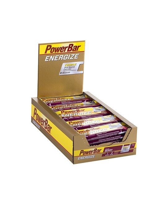PowerBar Energize Bar 25 x 60g Berry