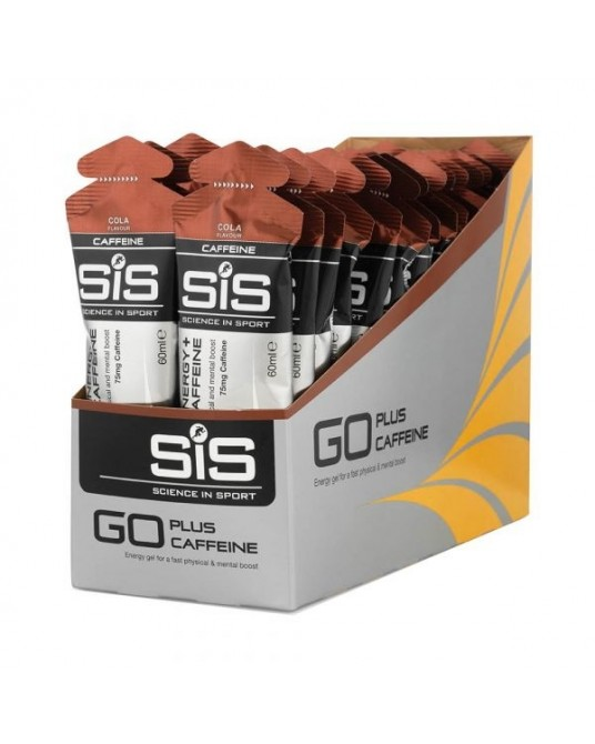 SIS Gel Go Plus Caffeine 30x 60ml Berries