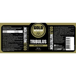 Gold nutrition tribulus 60 capsulas