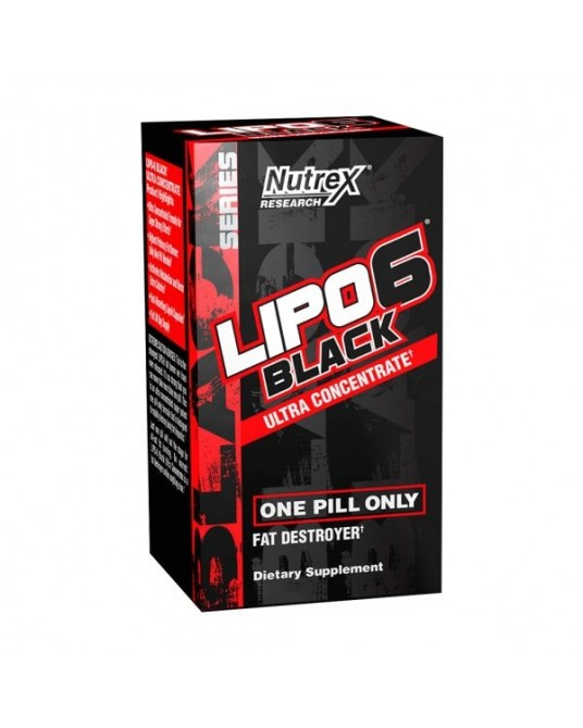 Nutrex Lipo 6 Black Ultra Concentrate 60 Cápsulas