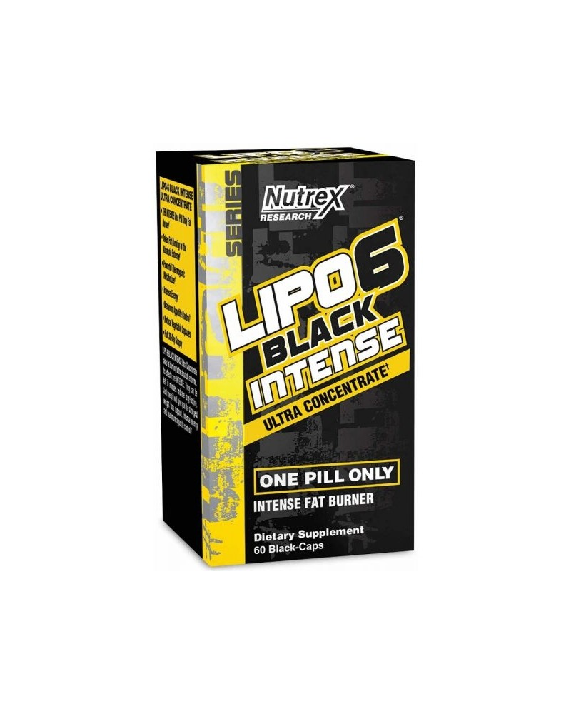 Nutrex Lipo-6 Black Intense Ultra Concentrate 60 cápsulas